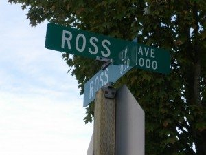 Ross Ave and Ross Loop in DuPont, WA