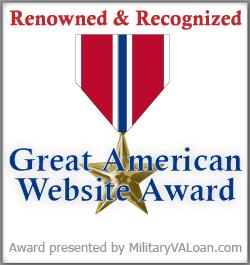 Military VA Loan Award