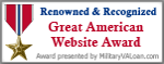 Military Website Award